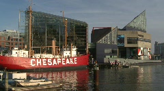 Baltimore Harbor Stock Footage