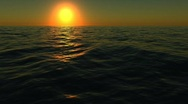 Sunset sea timelapse Stock Footage