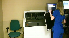 Xray technologist Stock Footage
