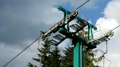 Chair lift Stock Footage