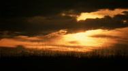 Golden Sunset 01 Stock Footage