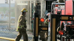 Firefighting 1 Stock Footage