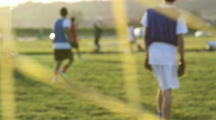 soccer game - stock footage