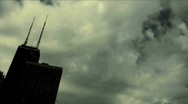 Skyline Dark Clouds Time Lapse HD 720 by in Stock Footage