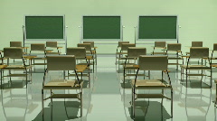 Stock Video Footage of t170 classroom cg cgi education educational