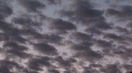 Stock Video Footage of clouds fade to black