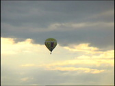 Balloon in the sky Stock Footage