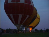 Balloons are ready to fly up Stock Footage