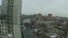 City buildings - stock footage