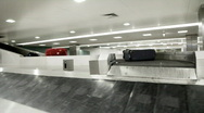 Stock Video Footage of Baggage Claim