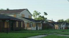 9th Ward, Hurricane Katrina, New Orleans - 07 Stock Footage