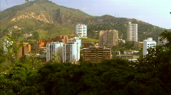 Cali Colombia City View - stock footage