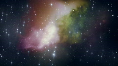 Loopable Space Backdrop 3 HD Stock Footage