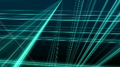 Speedly moving lines crossing Stock Footage