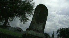 Cemetery Graves - 03 Stock Footage