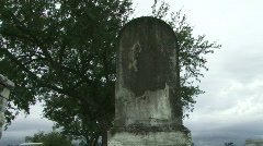 Cemetery Graves - 05 Stock Footage