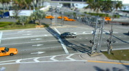 Stock Video Footage of Busy intersection - tilt shift
