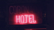Stock Video Footage of Flickering neon signage - 1