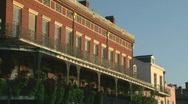 French Quarter, New Orleans French Architecture - Stock Footage