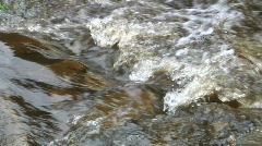 Water Rapids SLOW Stock Footage