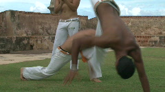 Capoeira Demonstration - 09 Stock Footage