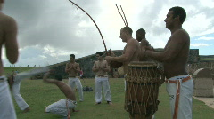 Capoeira Demonstration - 10 Stock Footage