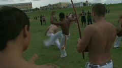 Capoeira Demonstration - 11 Stock Footage