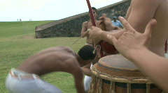 Capoeira Demonstration - 12 Stock Footage