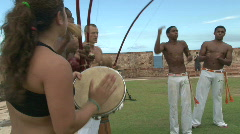 Capoeira Demonstration - 14 Stock Footage