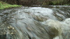 Brushy Creek Storm Water Flow Stock Footage