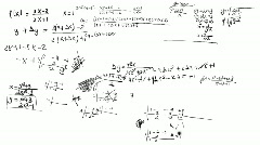 Math Equations Scribbling  Design Element HD Stock Footage