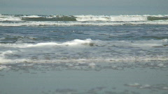 Daytona Beach Waves MED Stock Footage