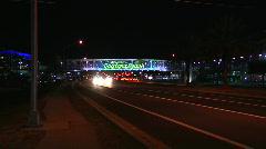 Daytona Beach SIgn PUSH Stock Footage