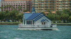 St.Petersburg Floating Church Stock Footage