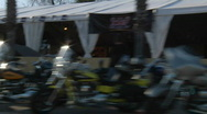 Stock Video Footage of Main Street Bike Week 2010 03