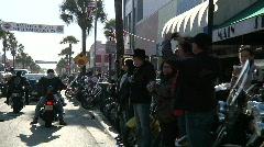 Main Street Cruise Stock Footage