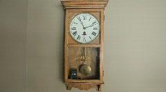 Pendulum and Digital Clocks - stock footage