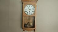 Pendulum and Digital Clocks Stock Footage