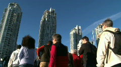 Modern Life in the City Stock Footage