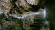 Waterfalls SC Vertical 01 Loop Stock Footage