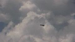 Stock Video Footage of Eurofighter Typhoon - nat.sound
