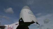 HD1080i Antonov An-124-100 Jumbo Jet airplane Stock Footage