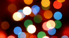 Holiday lights Stock Footage
