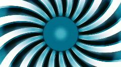 Rotate swirl beams. Loop Stock Footage