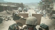 Stock Video Footage of Special Forces Soldier on Patrol in Afghanistan c