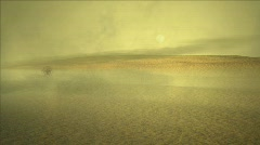 Desert Storm - stock footage