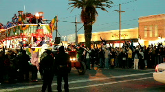 Papa Joes Float in Endymion Parade Stock Footage