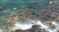 Shoreline Rocks 2 - Hawaii Stock Footage
