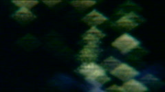 Light abstraction fireworks 07 - Vintage 8mm film Stock Footage