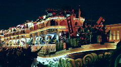 The Mixed Nuts float in Endymion parade Stock Footage